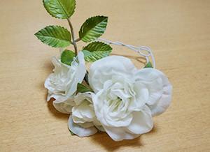 ウェルカムボード用の花