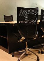 メッシュ椅子