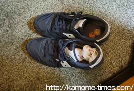 靴の臭い取り